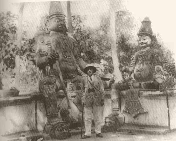 Успенский на Цейлоне
