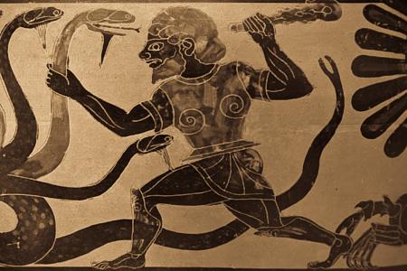 Гурджиев - Геркулес, убивающий Гидру